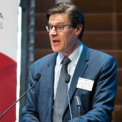 Parliamentary Secretary to the Premier and Treasurer Jonathan O'Dea MP at Korea-NSW business forum.