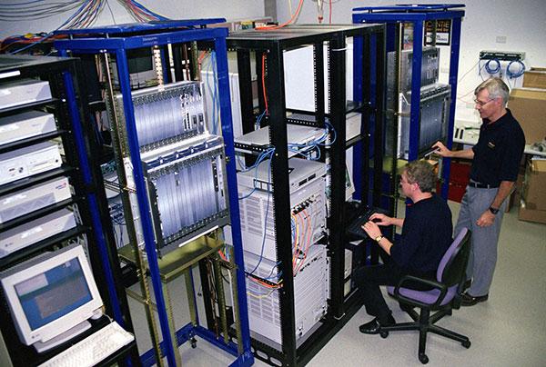 Server room personnel