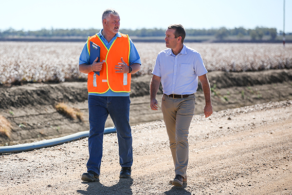 Natural Resources Access Regulator officers visit Moree.