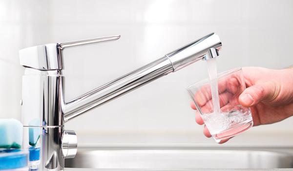 Tap drinking water
