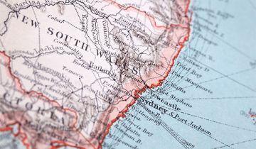 Regional NSW map