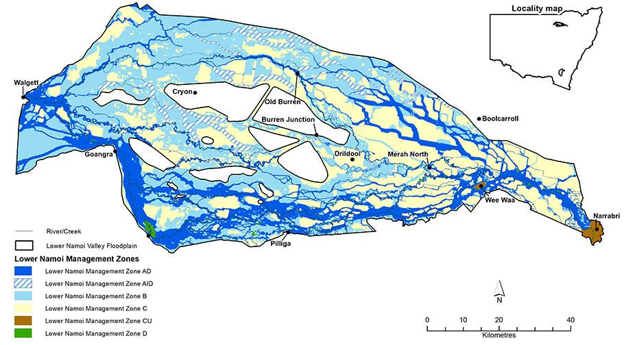 Lower Management Zones map