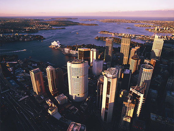 New south wales city