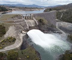 Jindabyne dam release