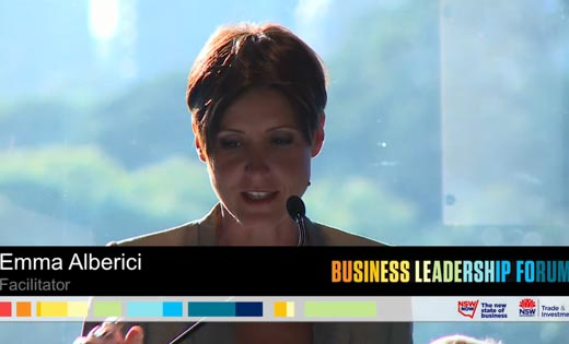 2014 Business Leadership Forum video
